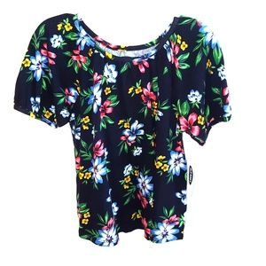 NWT Old Navy Girls Floral Top 5T